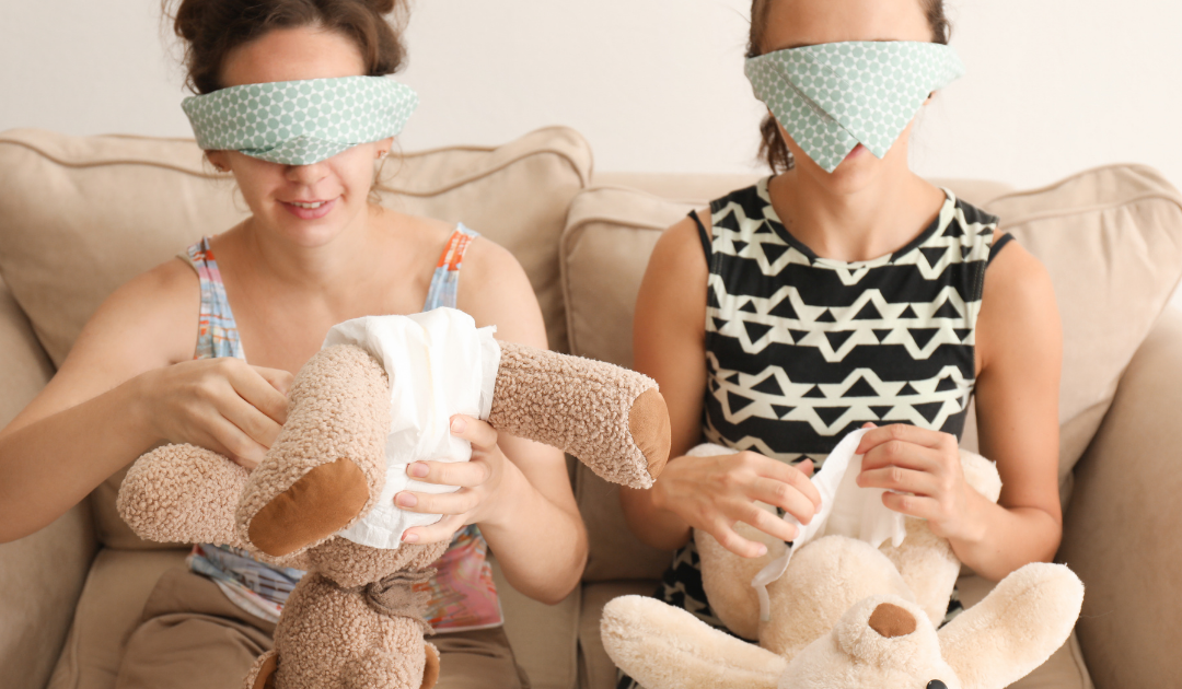 Blindfolds With Cuddly Toys